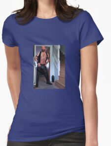Troy - Leather Greetings!!! T-Shirt
