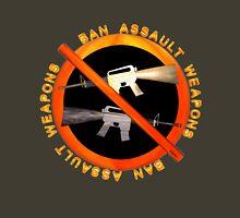 Ban Assault Weapons by Valxart Unisex T-Shirt