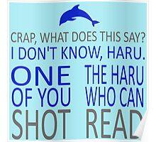 HE SHOT HARU Poster