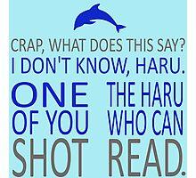 HE SHOT HARU Photographic Print