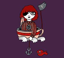 Teacup Pirate Womens Fitted T-Shirt