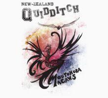 NZ Quidditch - Moutohora Macaws Kids Clothes