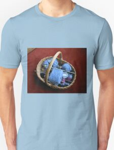 Basket of Knitting Unisex T-Shirt