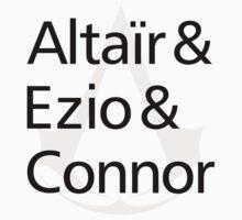 Altaïr & Ezio & Connor Kids Clothes