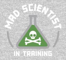 Mad Scientist in Training Kids Tee