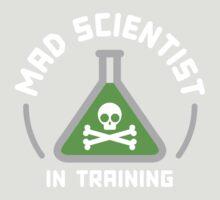 Mad Scientist in Training by vonplatypus