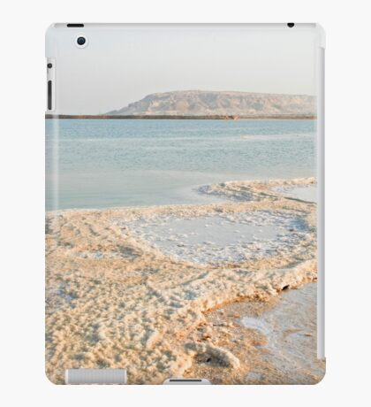 Israel, Dead Sea Salt crystal iPad Case/Skin