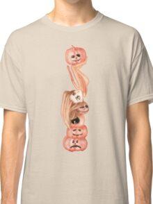 Jack O'Lantern Stack Classic T-Shirt
