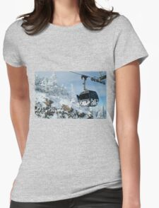 Cow Power Womens Fitted T-Shirt