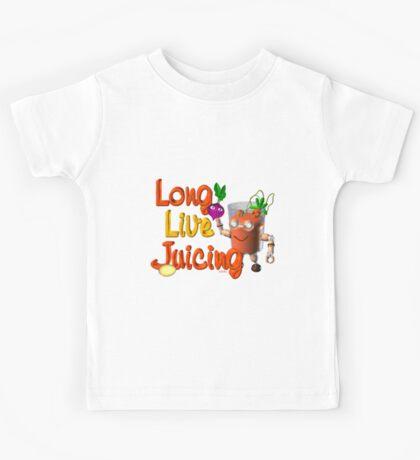 Long live Juicing by Valxart  Kids Tee