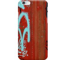 Red Vix Cover iPhone Case/Skin