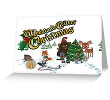 Woodland Critter Christmas (South Park) Greeting Card