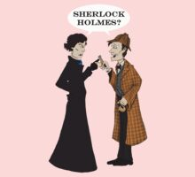 sherlock who? Kids Tee