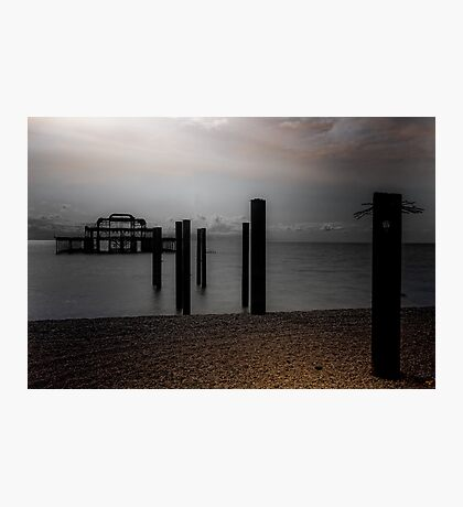 West Pier Requiem Photographic Print