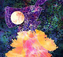 She Dances by Moonlight by Robert Ball