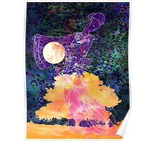 She Dances by Moonlight Poster