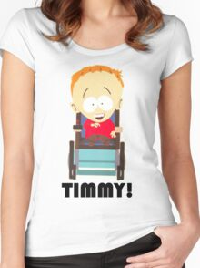 Timmy (South Park) Women's Fitted Scoop T-Shirt