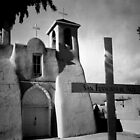 San Francisco de Asis, Ranchos de Taos by Susan Chandler & Gordon Lukesh