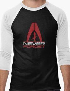 Never Forget: Shep v1 Men's Baseball ¾ T-Shirt