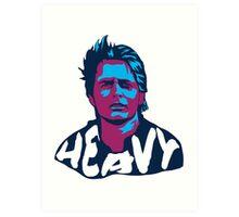 Marty McFly Pop Art Art Print