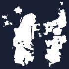 Azeroth Map (super minimal) by Sirkib