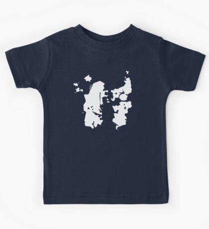 Azeroth Map (super minimal) Kids Tee