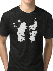 Azeroth Map (super minimal) Tri-blend T-Shirt
