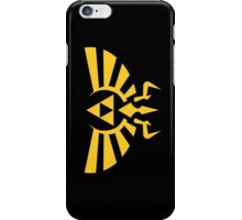 Crest of hyrule iPhone Case/Skin
