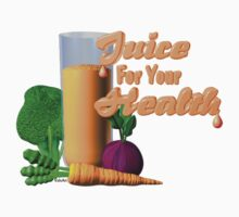 Juice for your health by Valxart  Kids Clothes