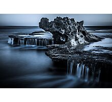 Blue Dragon Rock Photographic Print