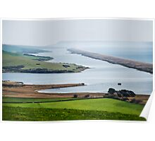 Chesil Beach Overlook  Poster