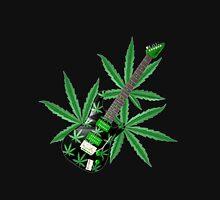 Cannabis leaf guitar by Valxart Hoodie