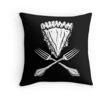 Pie(rate) Throw Pillow