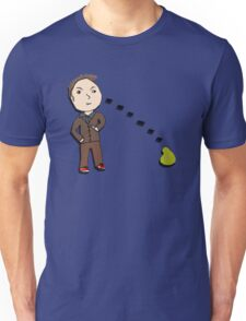 10th Doctor vs. the Pear Unisex T-Shirt