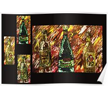 Sensual Explosion Collage  Poster