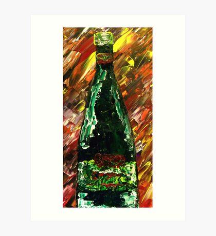 Sensual Explosion Bottle 1 Art Print