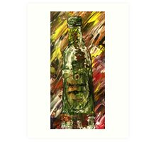 Sensual Explosion Bottle 2 Art Print