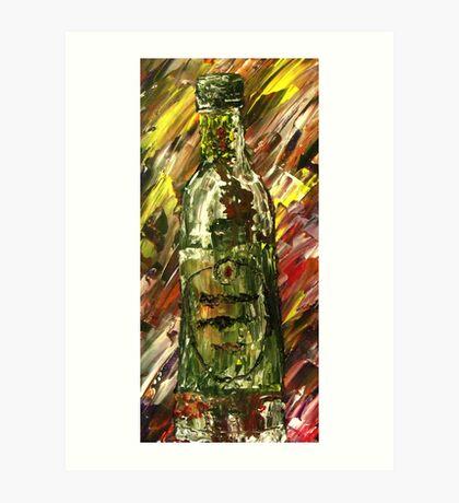 Sensual Explosion Bottle 2 Art Print