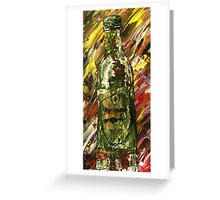 Sensual Explosion Bottle 2 Greeting Card