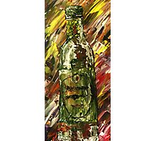 Sensual Explosion Bottle 2 Photographic Print