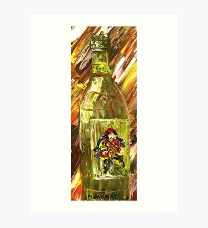 Sensual Explosion Bottle 3 Art Print