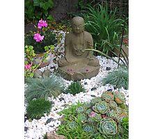 Zen Garden 1 Photographic Print