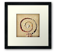 in-spiral Framed Print
