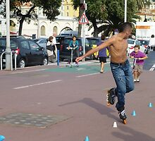 The Speed Skater by Fara