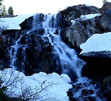 Mt Rose Waterfall,Reno,Nevada by Anthony & Nancy  Leake