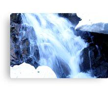 Mt Rose Waterfalls Canvas Print