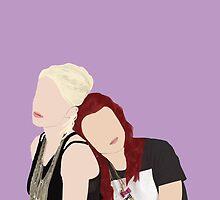 Skins UK - Naomi and Emily  by ohwowskins