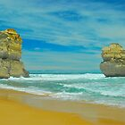 Twin Apostles by peasticks
