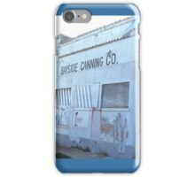 Old fruit and vegetable cannery iPhone Case/Skin