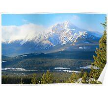 Pyramid Mountain Poster